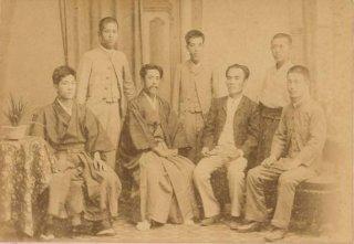 「じんるいがくのとも(日本人類学会の前身)」創立メンバー